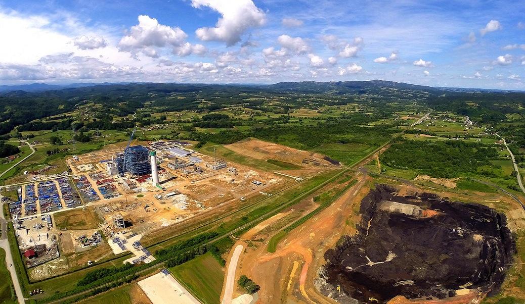 Stanary EFT Braunkohlekraftwerk.