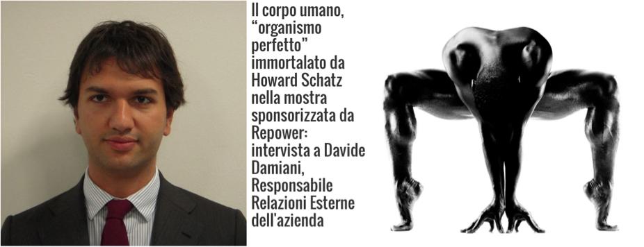 Repower Italien Sprecher Davide Damiani. Organismoperfetto Kampagne von Repower Italien. | Montage aus diesem Interview mit Damiani. (http://www.uominiedonnecomunicazione.com/2/9370/.html)