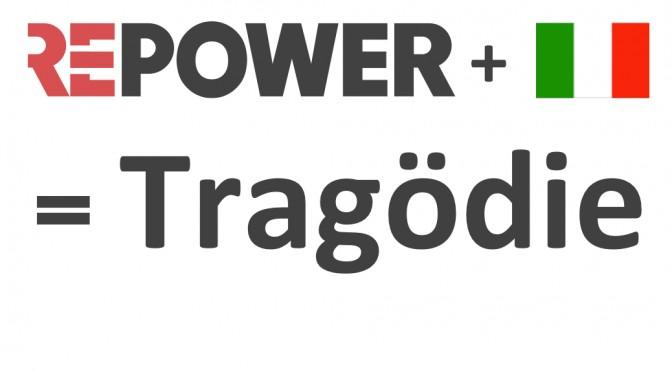 Das Italiengeschäft der Repower reisst den Konzern in den Abgrund